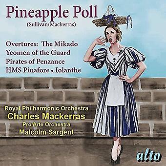 London Symphony Orchestra: Charles Macke - Sullivan: ananas Poll (Ballet) Overt [CD] USA importeren