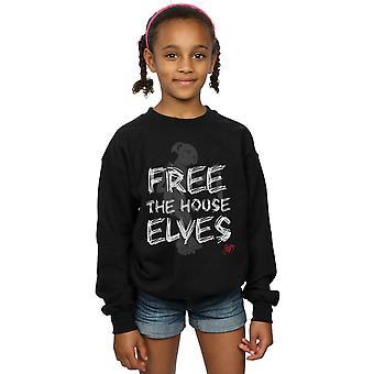 Harry Potter Girls Dobby Free The House Elves Sweatshirt