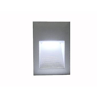 LED recessed wall-mounted luminaire IP65, 13, 8 x 9, 5 cm LED_Recess8 10134