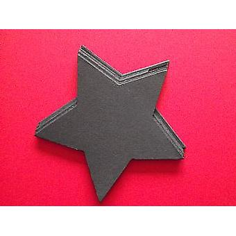 10 Black Star Card Shapes - Wand Crafts for Kids | Wand Making for Kids