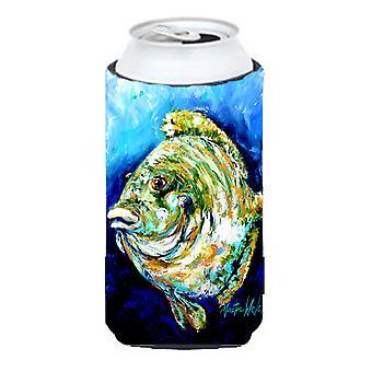 Lucky Gill niebieski ryb wysoki chłopiec napojów izolator Hugger