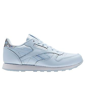 Reebok Classic Leather Fresh Bluewhite BS8975 universal all year kids shoes