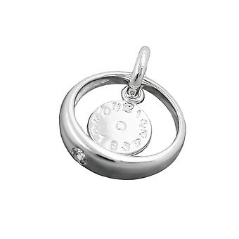 Baby's christening silver 925 pendant