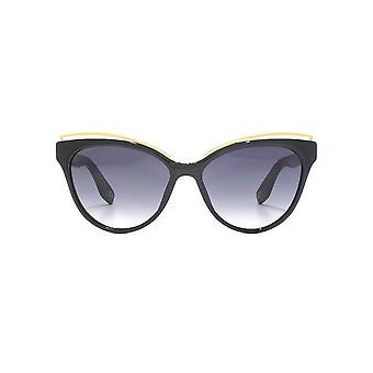 Marc Jacobs Metall Braue Cateye Sonnenbrillen In schwarz