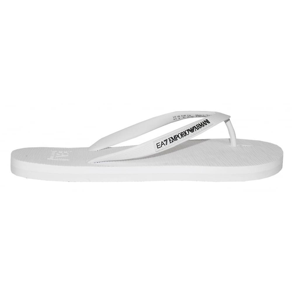 Emporio Flops Classic Armani EA7 Emporio Armani Flip White 1p1Pq