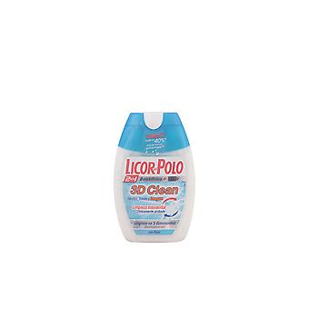 Licor Del Polo 3d Clean 2 In 1 Dentifrico 75ml Unisex New Sealed Boxed