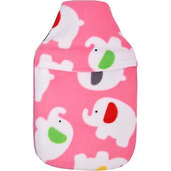 Vagabond Pink Elephant Hot Water Bottle