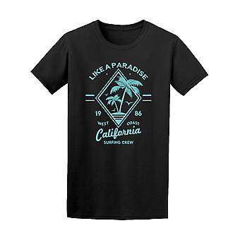 California Like A Paradise Light Design Tee - Image by Shutterstock
