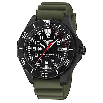 KHS watches mens watch black steel KHS country leader. LANBS. DO