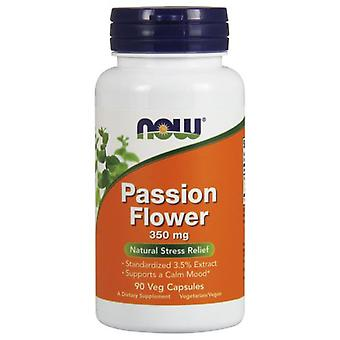 Now Foods Passion Flower 350Mg 90 Veggie Capsules