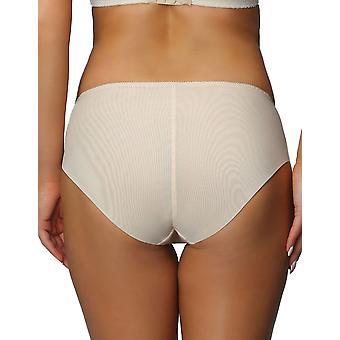Nessa P1 Women's Paris Beige Solid Colour Knickers Panty Full Brief