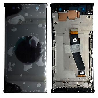 Sony display LCD complete unit with frame for Xperia XA2 ultra black spare parts