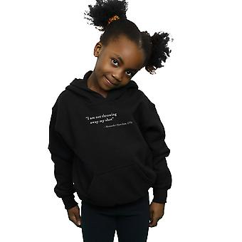 Drewbacca Girls Alexander Hamilton Quote Hoodie