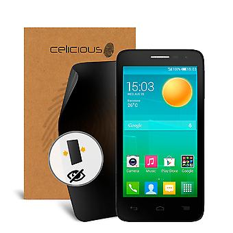 Celicious Privacy 2-Way Visual Black Out Screen Protector for Alcatel Onetouch Pop D5