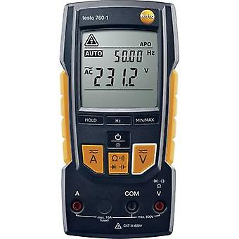 testo 760-1 Handheld multimeter Digital CAT III 600 V, CAT IV 300 V Display (counts): 4000