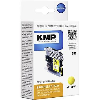 KMP Ink replaced Brother LC-223Y Compatible Yellow B51 1529,0009