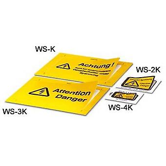 Warning label WS-4K 1004584 Phoenix Contact