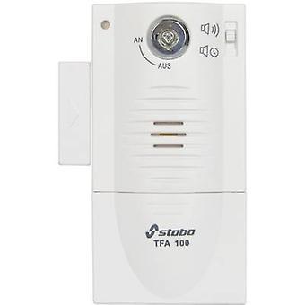 Stabo Door/window alarm TFA 100 White incl. key 90 dB 51109