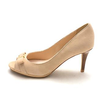 Cole Haan Womens 14A4175 Suede Peep Toe Classic Pumps