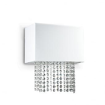 Ideal Lux Phoenix Twin Wall Light White