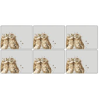 Pimpernel Wrendale Owl Placemats Set of 6