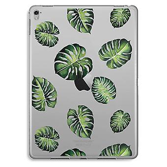 iPad Pro 9,7 inch Transparent Case (Soft) - Tropical leaves
