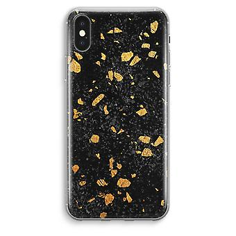 iPhone XS Max Transparent Case (Soft) - Terrazzo N°7