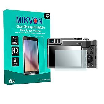 Panasonic Lumix DMC-TZ91 Screen Protector - Mikvon Clear (Retail Package with accessories) (intentionally smaller than the display due to its curved surface)