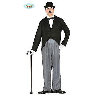 20 years Charlie Chaplin mens costume Mr costume dress one size