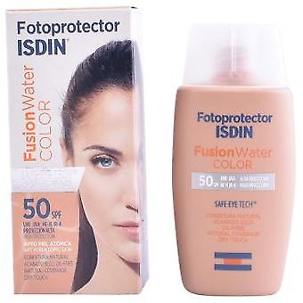 Isdin Fusion Water Fotoprotector Color Spf50+ 50 ml (Make-up , Face , Bases)