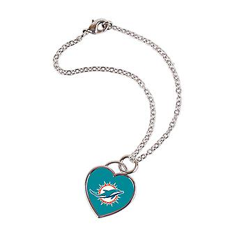 Wincraft dames 3D hart armband - NFL Miami Dolphins