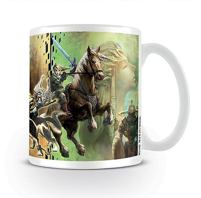Twilight Princess Céramique Cup BlancImpriméEn La De Zelda Légende CoexBrd
