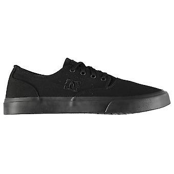 DC Mens Flash 2 formateurs Skate Shoes lacets cheville matelassée col de tonale couture