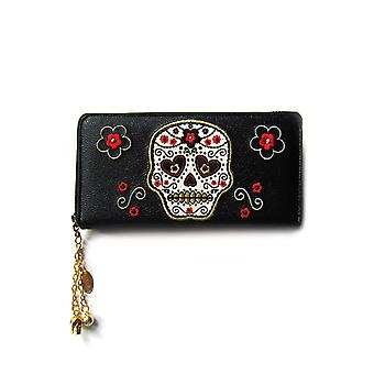 Banned Candy Skull Wallet
