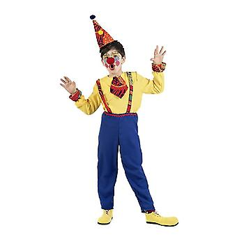 Clown drakt barn Totto jester barn drakt