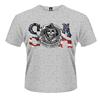 Sons Of Anarchy Flag T-Shirt
