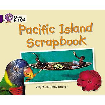 Stillehavet øya utklippsbok bandet 08/lilla av Andy Belcher - Angie Belc