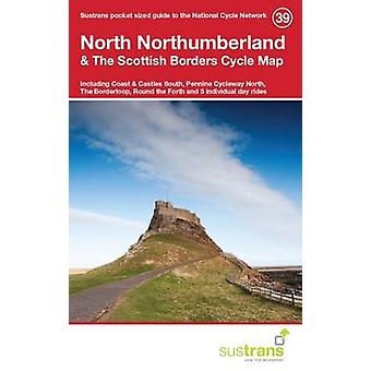 North Northumberland & the Scottish Borders Cycle Map 39 - Including C