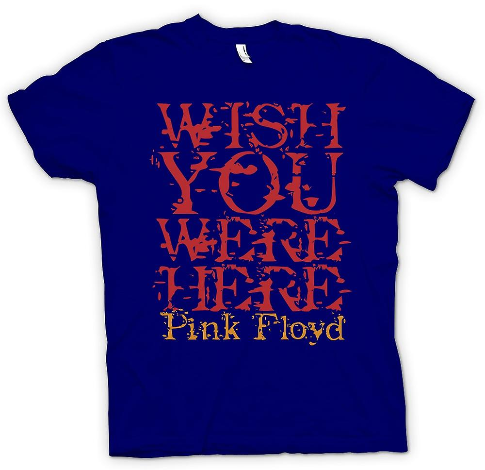 T-shirt des hommes - Wish You Were There - Quote