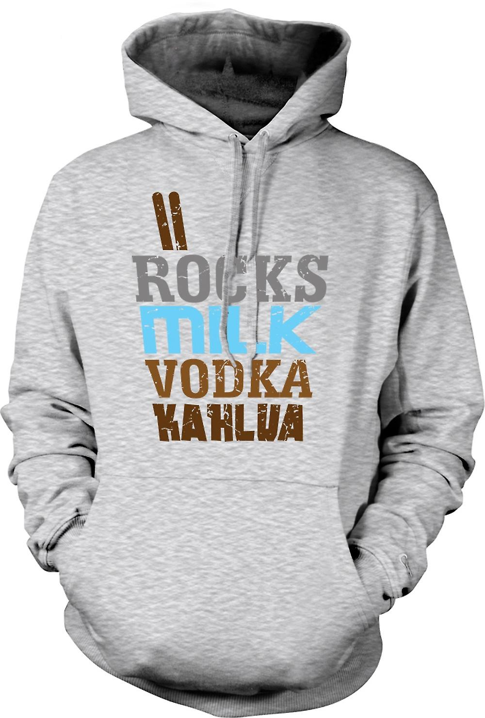 Mens Hoodie - White Russian - Cool