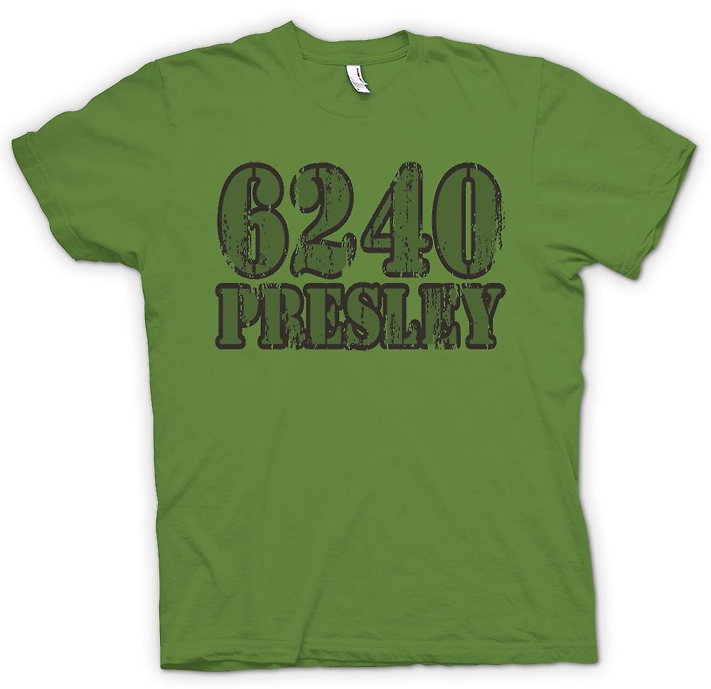 Mens T-shirt - 6240 Presley - Jail Number