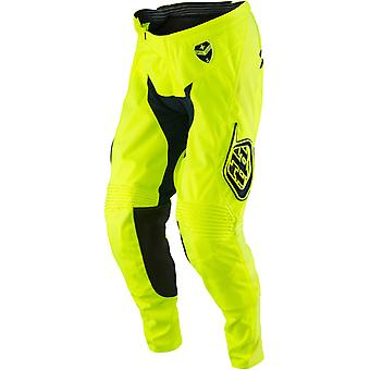 Troy Lee Designs Fluorescent Yellow-Navy 2017 GP Starburst Kids MX Pant