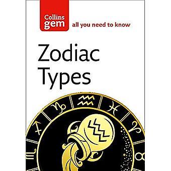 Zodiac Types (Collins GEM)