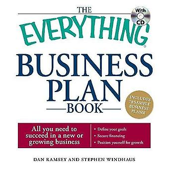 Everything Business Plan Bk with CD: All You Need to Plan for Success in a New or Growing Business (Everything (Business & Personal Finance))