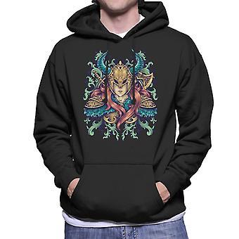 Viking Warrior Goddess Men's Hooded Sweatshirt