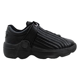K Swiss Chillton Black/Charcoal  Grade-School 8406006 Size 5.5 Medium