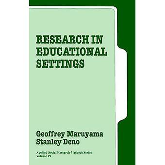 Forskning i utbildningsmiljöer av Maruyama & Geoffrey
