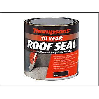 THOMPSONS HIGH PERFORMANCE ROOF SEAL BLACK 4 LITRE