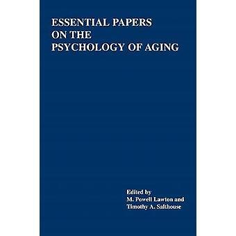 Olennaisia asiakirjoja Lawton & M Powell ikääntyminen psykologia