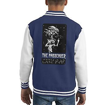 The Passenger Alien Iggy Pop Kid's Varsity Jacket